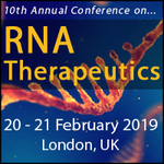 RNA Therapeutics, Date: 20th – 21st February 2019 Location: Copthorne Tara Hotel, London UK